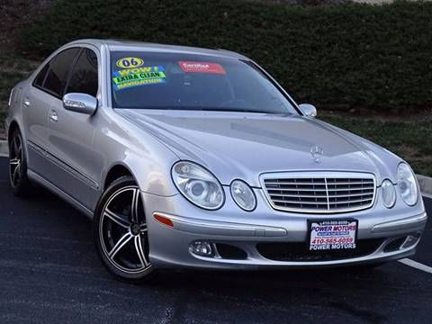 2006 Mercedes-Benz E-Class for sale in Halethorpe, MD