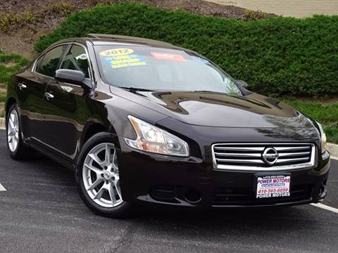 2012 Nissan Maxima for sale in Halethorpe, MD