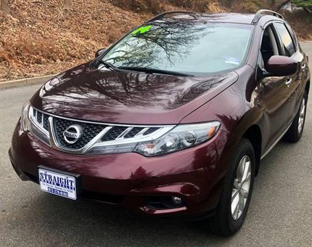 2014 Nissan Murano SV for sale at STRAIGHT MOTOR SALES INC in Paterson NJ