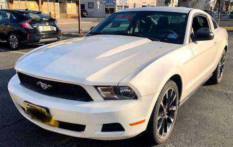 2012 Ford Mustang V6 for sale at STRAIGHT MOTOR SALES INC in Paterson NJ