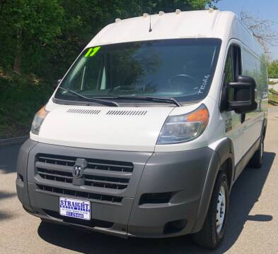 2017 RAM ProMaster Cargo 2500 159 WB for sale at STRAIGHT MOTOR SALES INC in Paterson NJ