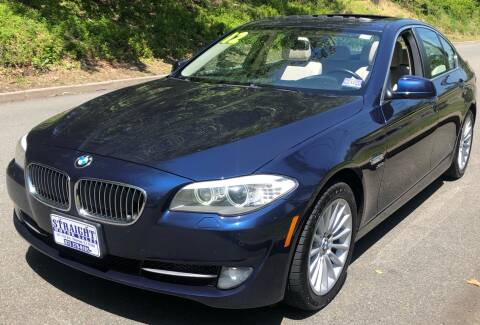 2012 BMW 5 Series 535i xDrive for sale at STRAIGHT MOTOR SALES INC in Paterson NJ