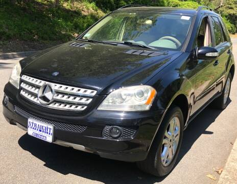 2006 Mercedes-Benz M-Class ML 350 for sale at STRAIGHT MOTOR SALES INC in Paterson NJ