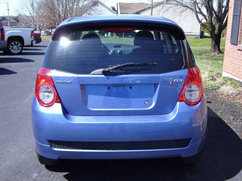 2009 Pontiac G3 4dr Hatchback - New Holland PA