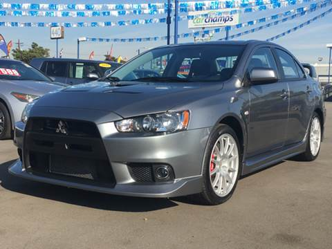 2014 Mitsubishi Lancer Evolution for sale at Pacific West Imports in Los Angeles CA
