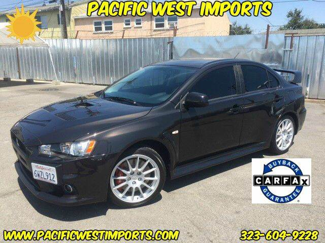 2012 Mitsubishi Lancer Evolution for sale at Pacific West Imports in Los Angeles CA