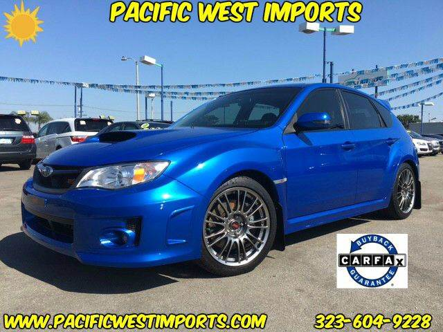 2013 Subaru Impreza for sale at Pacific West Imports in Los Angeles CA