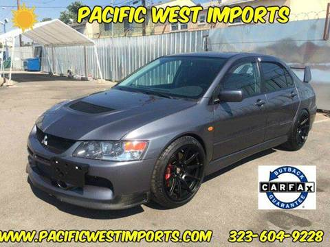 2006 Mitsubishi Lancer Evolution for sale at Pacific West Imports in Los Angeles CA
