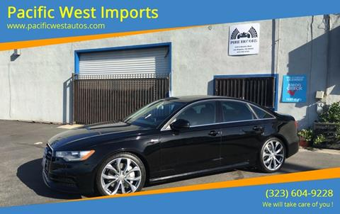 2012 Audi A6 for sale in Los Angeles, CA