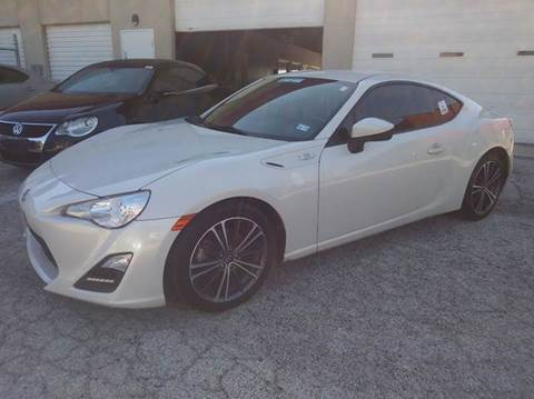 2015 Scion FR-S for sale at RICKY'S AUTOPLEX in San Antonio TX