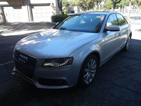 2011 Audi A4 for sale at RICKY'S AUTOPLEX in San Antonio TX