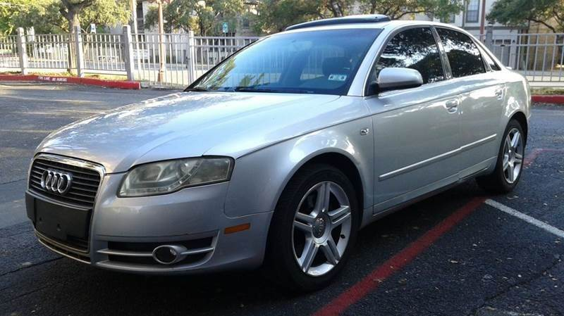 2008 Audi A4 for sale at RICKY'S AUTOPLEX in San Antonio TX