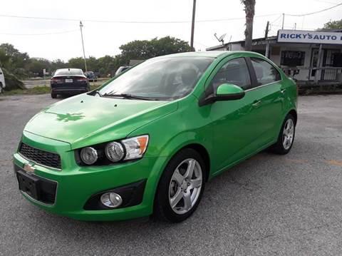 2015 Chevrolet Sonic for sale at RICKY'S AUTOPLEX in San Antonio TX