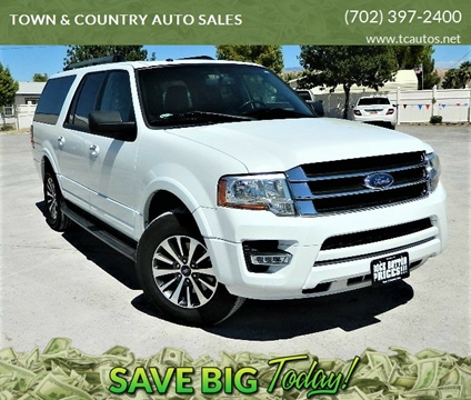 2015 Ford Expedition EL for sale in Overton, NV