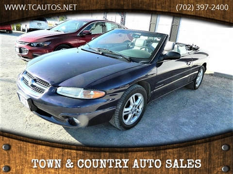 Town And Country Auto Sales >> Town Country Auto Sales Car Dealer In Overton Nv