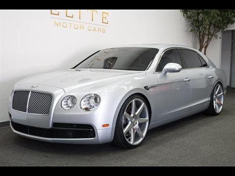 2015 Bentley Flying Spur V8 for sale in Concord, CA