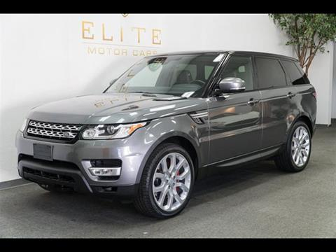 2015 Land Rover Range Rover Sport for sale in Concord, CA