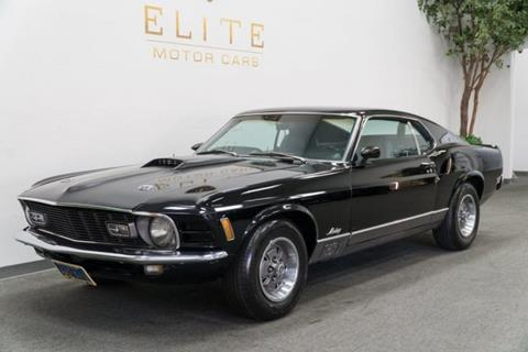 1970 ford mustang for sale for Elite motors concord ca