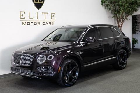 2017 Bentley Bentayga for sale in Concord, CA