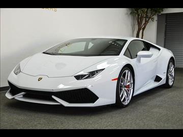 2015 Lamborghini Huracan for sale in Concord, CA