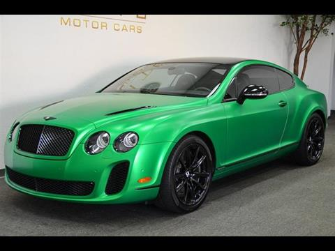 2010 Bentley Continental Supersports for sale in Concord, CA