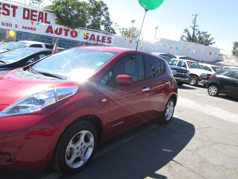2011 Nissan LEAF for sale in Stockton, CA