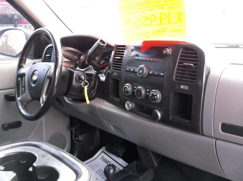 2010 Chevrolet Silverado 2500HD 4x4 Work Truck 4dr Extended Cab LB - Batesville AR