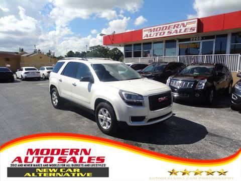 2015 GMC Acadia for sale in Hollywood, FL