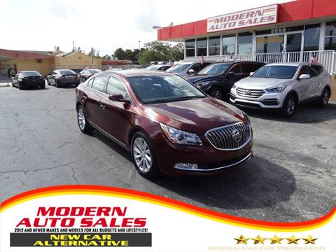 2016 Buick LaCrosse for sale in Hollywood, FL