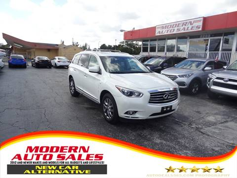 2015 Infiniti QX60 for sale in Hollywood, FL