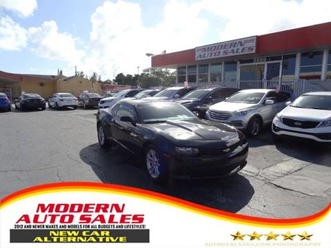 2015 Chevrolet Camaro for sale in Hollywood, FL
