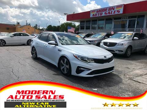 2019 Kia Optima for sale at Modern Auto Sales in Hollywood FL
