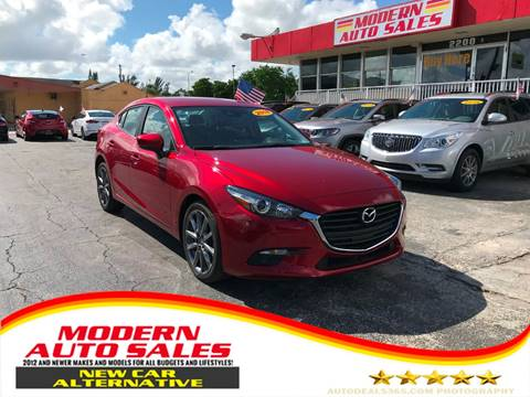 2018 Mazda MAZDA3 for sale at Modern Auto Sales in Hollywood FL
