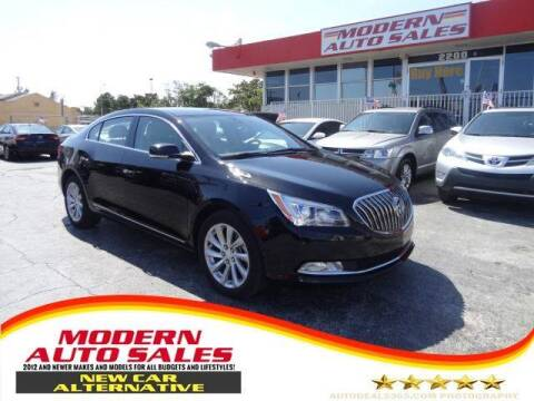 2016 Buick LaCrosse for sale at Modern Auto Sales in Hollywood FL