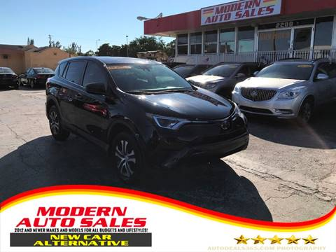 2018 Toyota RAV4 for sale at Modern Auto Sales in Hollywood FL