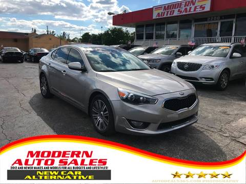 2014 Kia Cadenza for sale at Modern Auto Sales in Hollywood FL