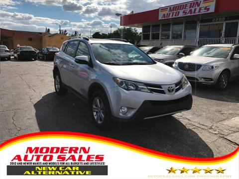 2013 Toyota RAV4 for sale at Modern Auto Sales in Hollywood FL