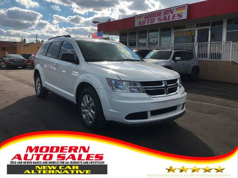 2017 Dodge Journey for sale at Modern Auto Sales in Hollywood FL