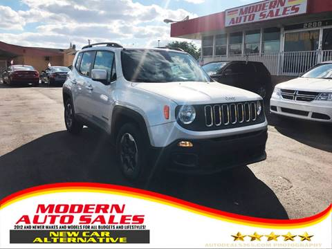 2015 Jeep Renegade for sale at Modern Auto Sales in Hollywood FL