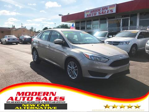 2017 Ford Focus for sale at Modern Auto Sales in Hollywood FL