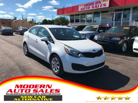 2015 Kia Rio for sale at Modern Auto Sales in Hollywood FL