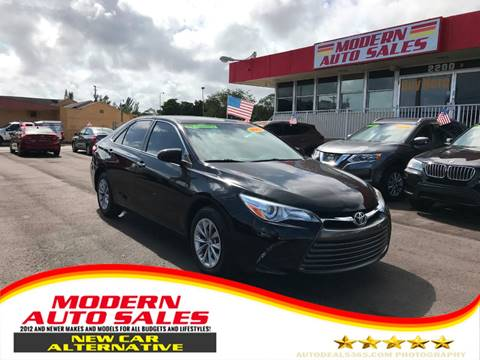 2016 Toyota Camry for sale at Modern Auto Sales in Hollywood FL