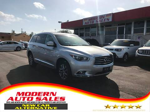 2015 Infiniti QX60 for sale at Modern Auto Sales in Hollywood FL