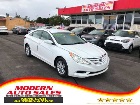2011 Hyundai Sonata for sale at Modern Auto Sales in Hollywood FL