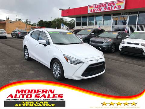 2018 Toyota Yaris iA for sale at Modern Auto Sales in Hollywood FL