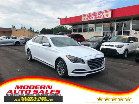 2017 Genesis G80 for sale at Modern Auto Sales in Hollywood FL