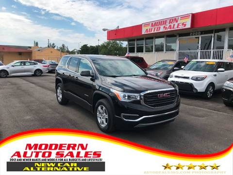 2017 GMC Acadia for sale at Modern Auto Sales in Hollywood FL