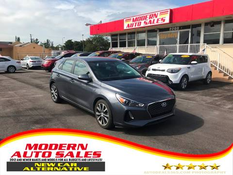 2018 Hyundai Elantra GT for sale at Modern Auto Sales in Hollywood FL