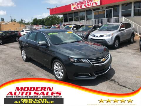 2019 Chevrolet Impala for sale at Modern Auto Sales in Hollywood FL