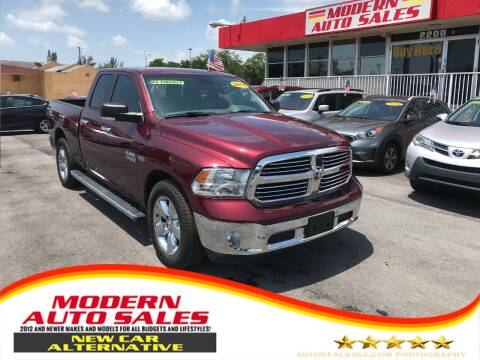 2016 RAM Ram Pickup 1500 for sale at Modern Auto Sales in Hollywood FL